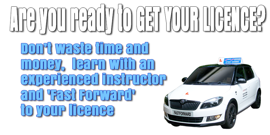 Driving lessons with Fast Forward Driving School